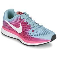 Chaussures Air max tnFemme Running / trail Nike AIR ZOOM PEGASUS 34 Bleu / Fushia