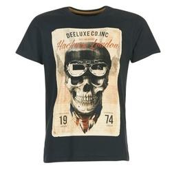 Vêtements Homme T-shirts manches courtes Deeluxe CLEM Gris / Beige