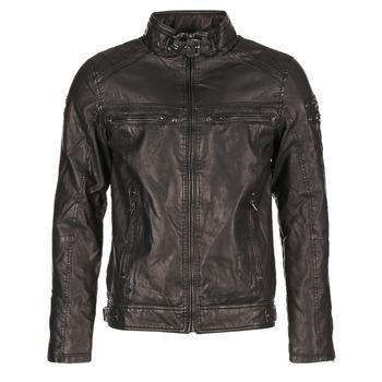 Vêtements Homme Vestes en cuir / synthétiques Deeluxe SPANGLE Noir