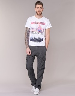 Vêtements Homme Pantalons cargo Deeluxe TROPERY Gris