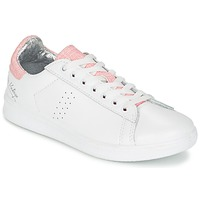Chaussures Air max tnFemme Baskets basses Ippon Vintage WILD MILO Blanc / Rose