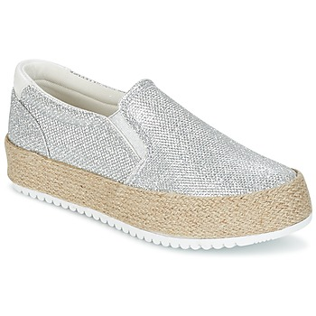 Chaussures Femme Slips on MTNG MAREN Argenté