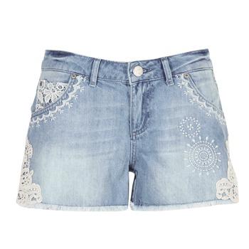 Vêtements Femme Shorts / Bermudas Desigual MARTES Bleu