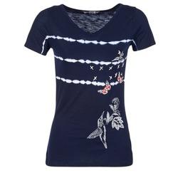 Vêtements Femme T-shirts manches courtes Desigual TIDEREA Marine