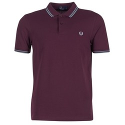 Vêtements Homme Polos manches courtes Fred Perry TWIN TIPPED FRED PERRY SHIRT Violet