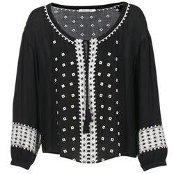 Vêtements Femme Tops / Blouses See U Soon 7117029 Noir