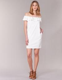 Vêtements Femme Robes courtes See U Soon 7123017 Blanc