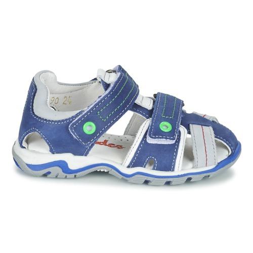 Babybotte Karter Bleu / Vert / Gris