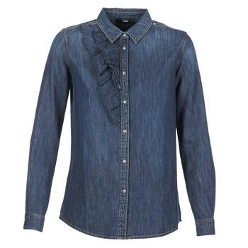 Vêtements Femme Chemises / Chemisiers Diesel DE KELLY Bleu