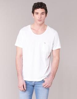 Vêtements Homme T-shirts manches courtes Diesel T KRONOX Blanc