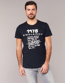Vêtements Homme T-shirts manches courtes Diesel T DIEGO NB Noir