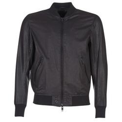 Vêtements Homme Vestes en cuir / synthétiques Diesel L POWELL Noir