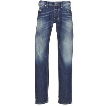 Vêtements Homme Jeans droit Diesel LARKEE Bleu 0859Y
