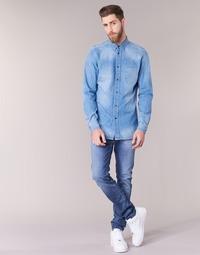 Vêtements Homme Jeans slim Diesel SLEENKER Bleu 0681N