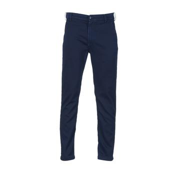 Vêtements Homme Chinos / Carrots Diesel SLIM CHINO JOGGJEANS Bleu 0680F