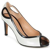 Chaussures Femme Escarpins Perlato FEJILI Blanc / Noir