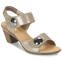 Chaussures Air max tnFemme Sandales et Nu-pieds Rieker GERITEDO Gris