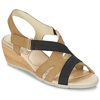 Chaussures Air max tnFemme Sandales et Nu-pieds Rondinaud COLAGNE Beige / Noir
