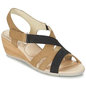 Chaussures Femme Sandales et Nu-pieds Rondinaud COLAGNE Beige / Noir
