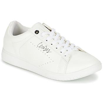 Chaussures Air max tnFemme Baskets basses Le Temps des Cerises SACHA Blanc