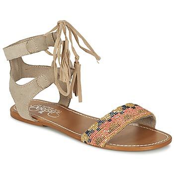 Chaussures Femme Sandales et Nu-pieds Le Temps des Cerises KAMPUR Beige