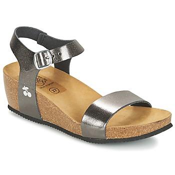 Chaussures Femme Sandales et Nu-pieds Le Temps des Cerises ASTRID Gris