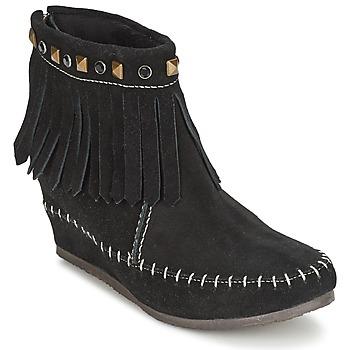 Chaussures Femme Boots Les Tropéziennes par M Belarbi BOLIVIE Noir