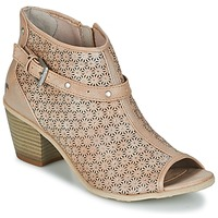 Chaussures Femme Bottines Mustang CRIARON Taupe