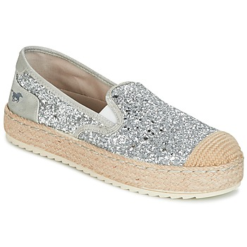 Chaussures Femme Espadrilles Mustang FRIO Argent