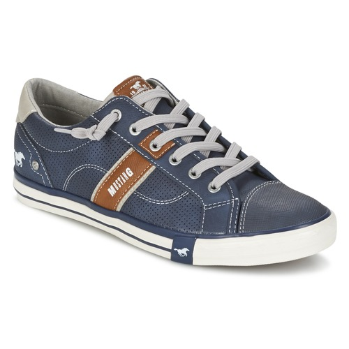 Chaussures Homme Baskets basses Mustang FALA Marine