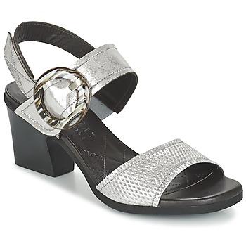 Chaussures Air max tnFemme Sandales et Nu-pieds Hispanitas DADOMPI Argenté