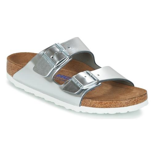 birkenstock arizona sfb argent chaussure pas cher avec chaussures mules femme 75. Black Bedroom Furniture Sets. Home Design Ideas