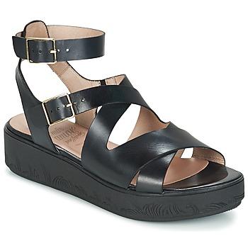 Chaussures Femme Sandales et Nu-pieds Wonders GROZE Noir