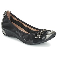 Chaussures Air max tnFemme Ballerines / babies Mam'Zelle FADILA Noir / Argenté
