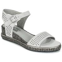 Chaussures Air max tnFemme Sandales et Nu-pieds Mam'Zelle SELDA Gris