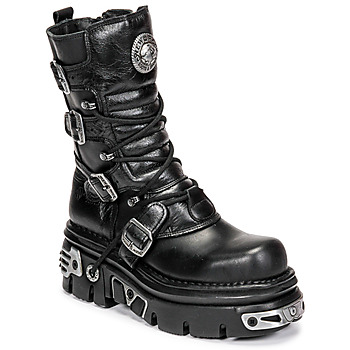 Chaussures Air max tnFemme Boots New Rock NEMESIS Noir