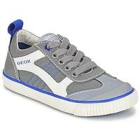 Chaussures Garçon Baskets basses Geox J KIWI B. J Gris