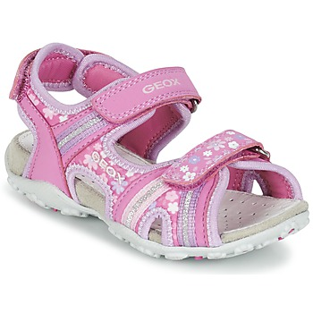 Chaussures Fille Sandales sport Geox J S.ROXANNE A Rose