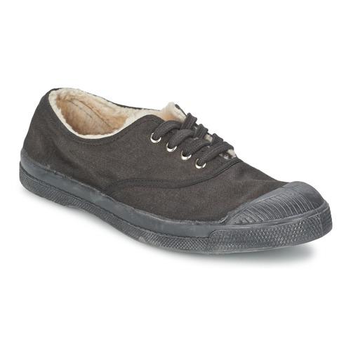 Chaussures Enfant Baskets basses Bensimon TENNIS FOURREES Gris