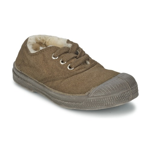 Chaussures Enfant Baskets basses Bensimon TENNIS FOURREES Marron
