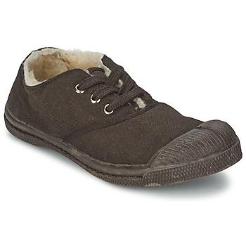 Chaussures Air max tnEnfant Baskets basses Bensimon TENNIS FOURREES Chocolat
