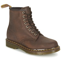 Chaussures Boots Dr Martens 1460 Marron foncé