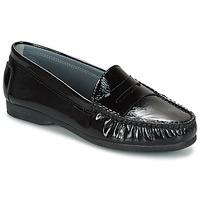 Chaussures Air max tnFemme Mocassins Arcus DAME Noir