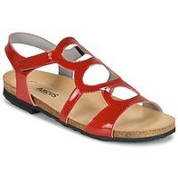 Chaussures Air max tnFemme Sandales et Nu-pieds Arcus BERNER Rouge