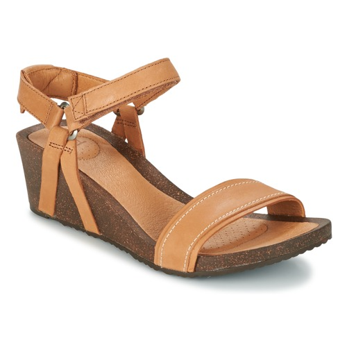 Teva YSIDRO STITCH WEDGE Cognac