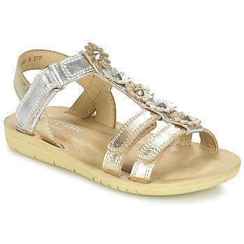 Chaussures Fille Sandales et Nu-pieds Start Rite LUNA Doré