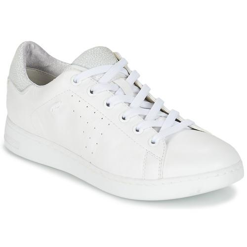 Geox Basket D Jaysen A blanc - Livraison Gratuite avec  - Chaussures Baskets basses Femme