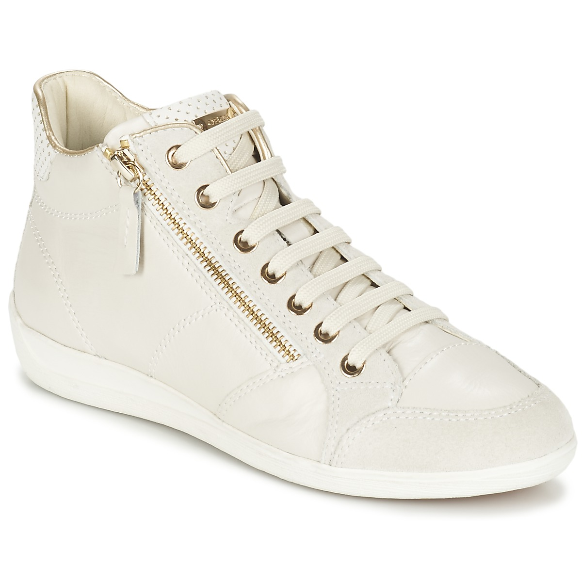 geox myria blanc chaussure pas cher avec chaussures basket montante femme 119 00. Black Bedroom Furniture Sets. Home Design Ideas