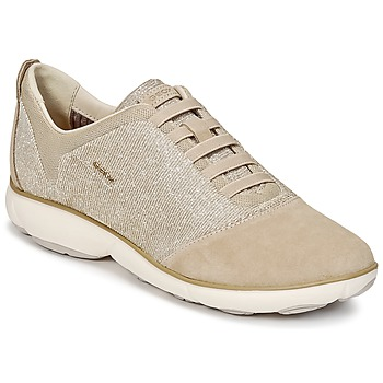 Chaussures Femme Baskets basses Geox D NEBULA G Taupe