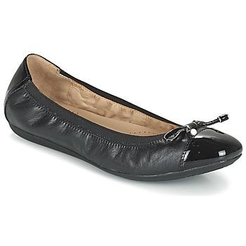 Chaussures Femme Ballerines / babies Geox D LOLA 2FIT C Noir